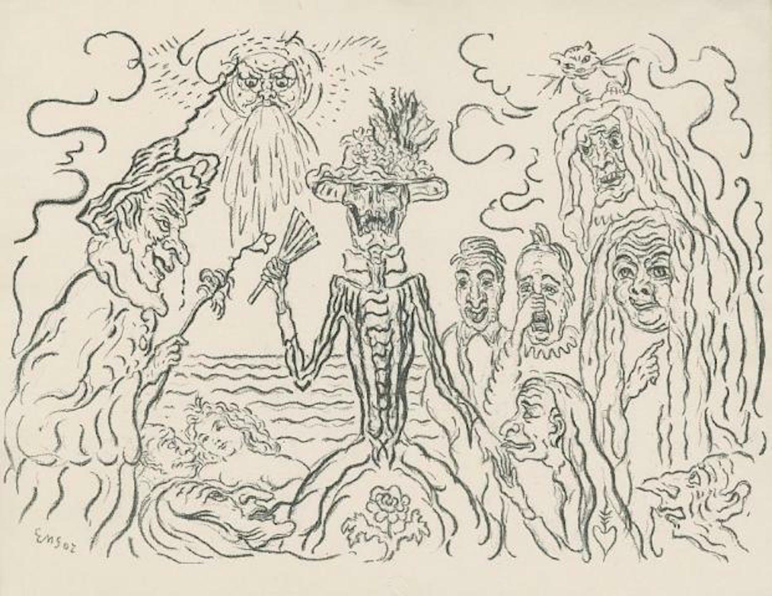 James Ensor, The Masks