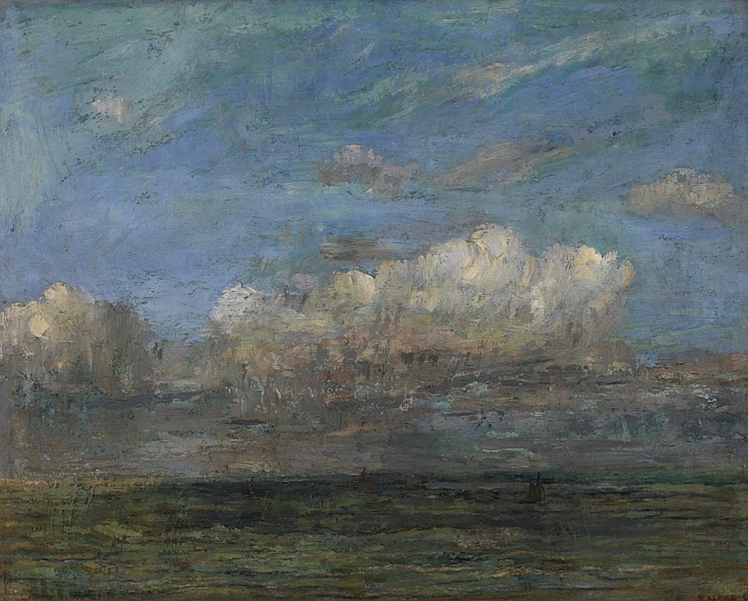 James Ensor, The White Cloud