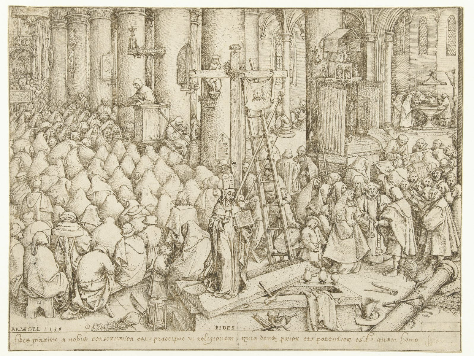 Pieter Bruegel the Elder, Fides (Faith)