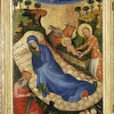 Unknown painter, Birth of Jesus, Panel of the Antwerp-Baltimore Polyptych