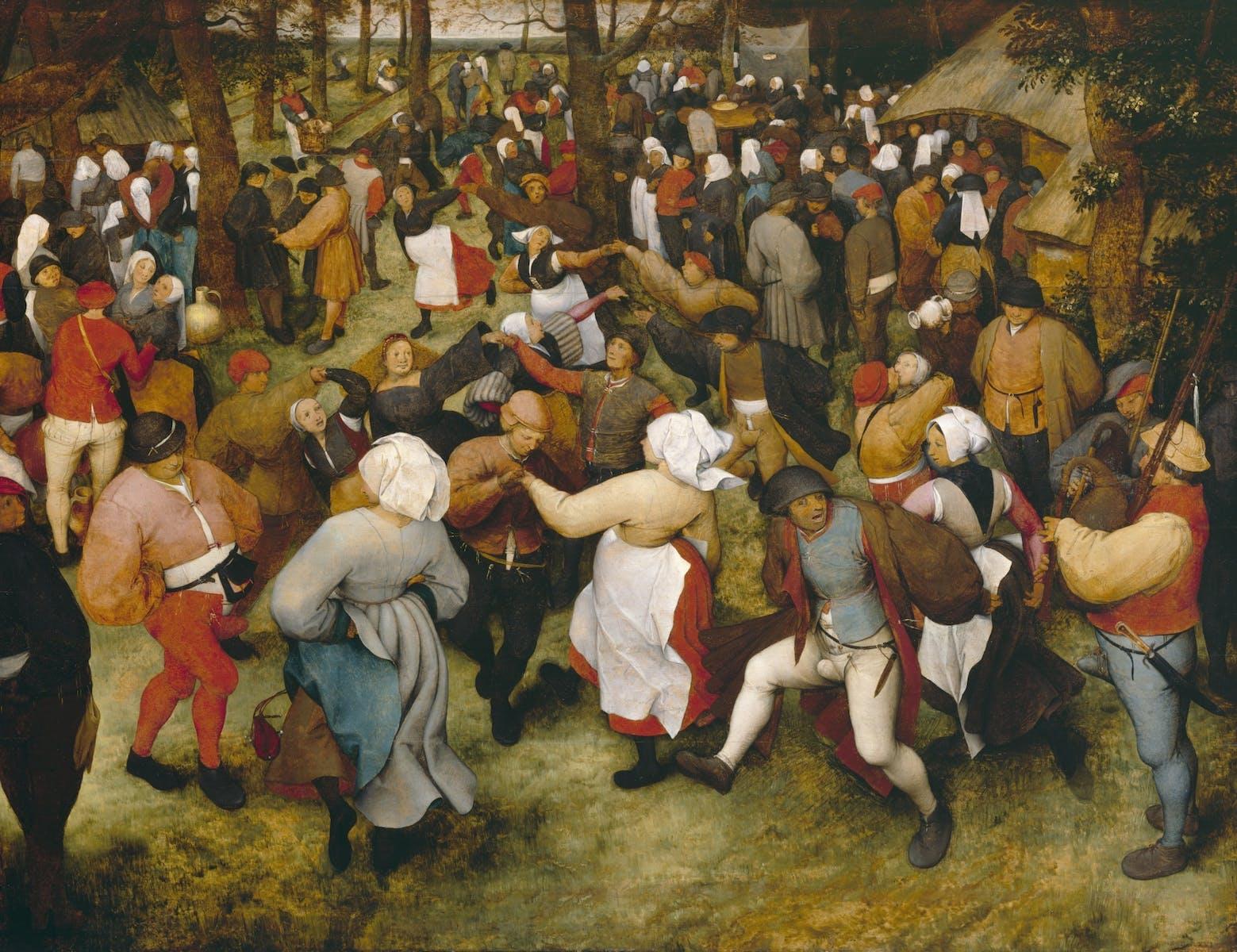 Pieter Bruegel the Elder, The Wedding Dance