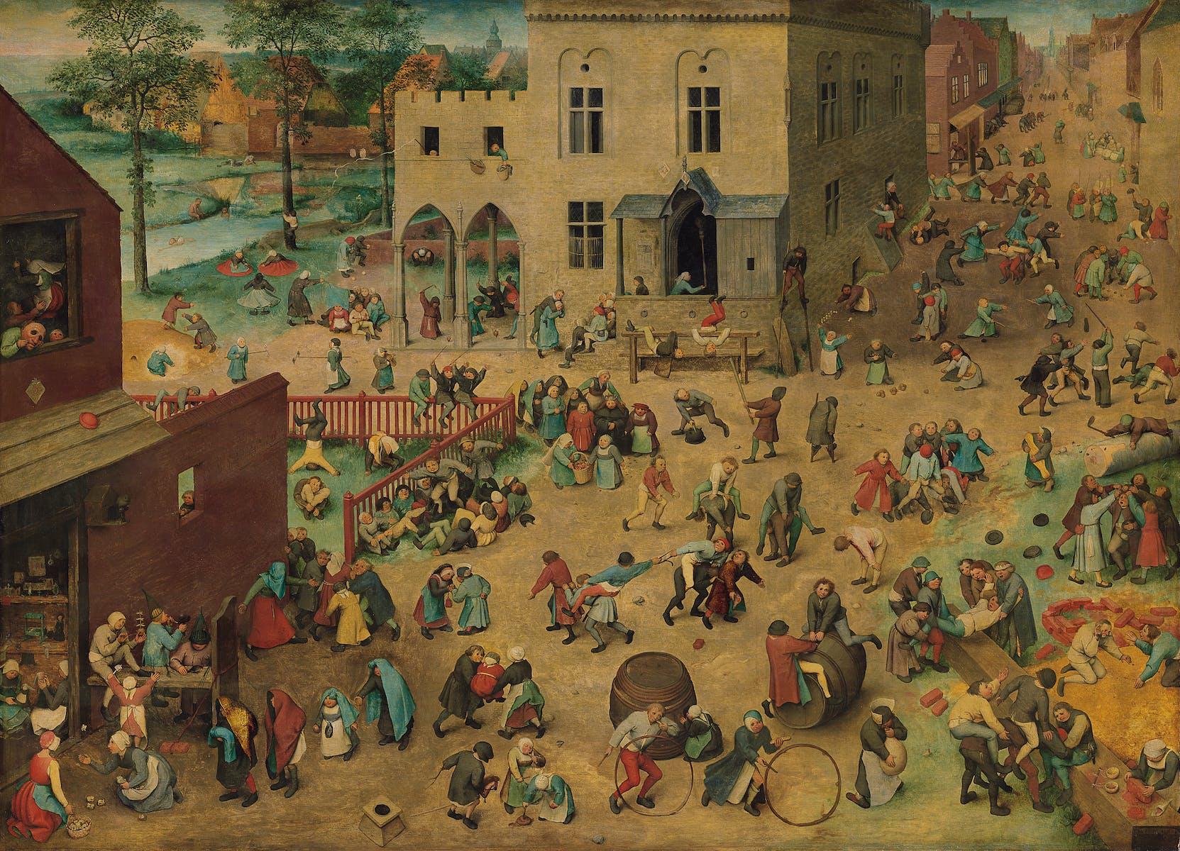 Pieter Bruegel the Elder, Children's Games