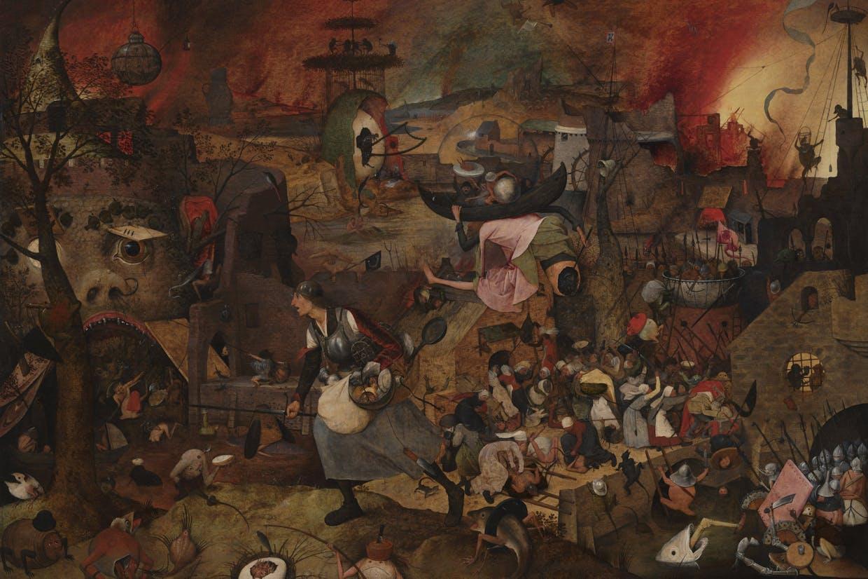 Dulle Griet, Pieter I Bruegel