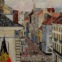 James Ensor, Music in the Vlaanderenstraat