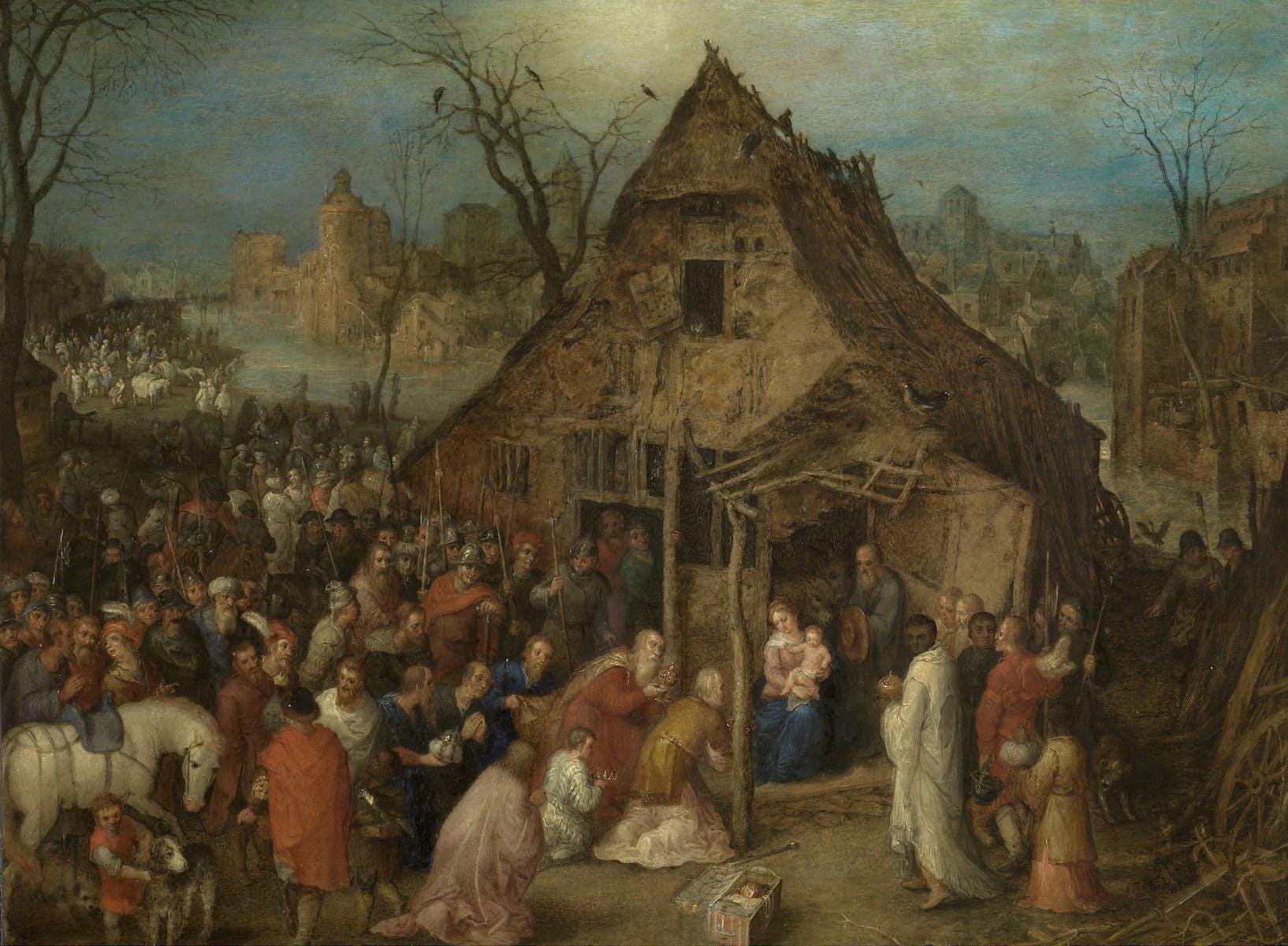 Jan Breughel II, Aanbidding door de koningen