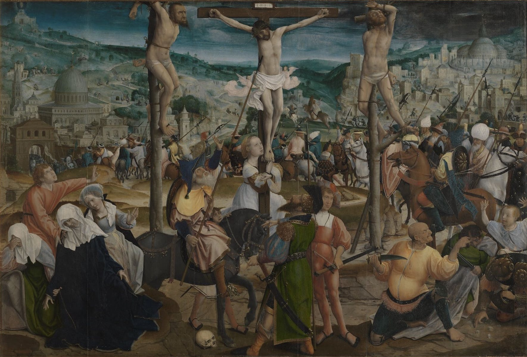 Jan Provoost, Crucifixion