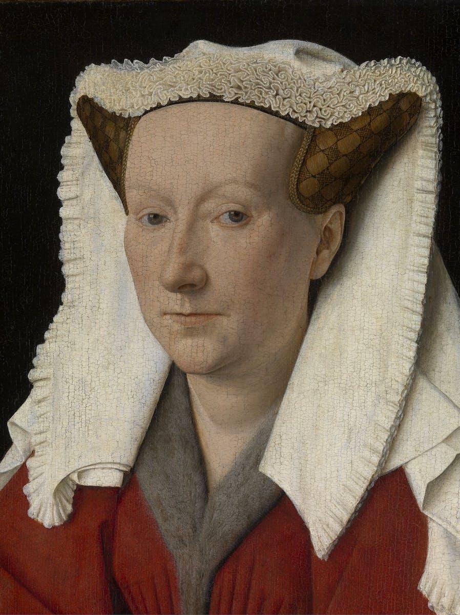 Jan van Eyck, Portrait of Margareta van Eyck