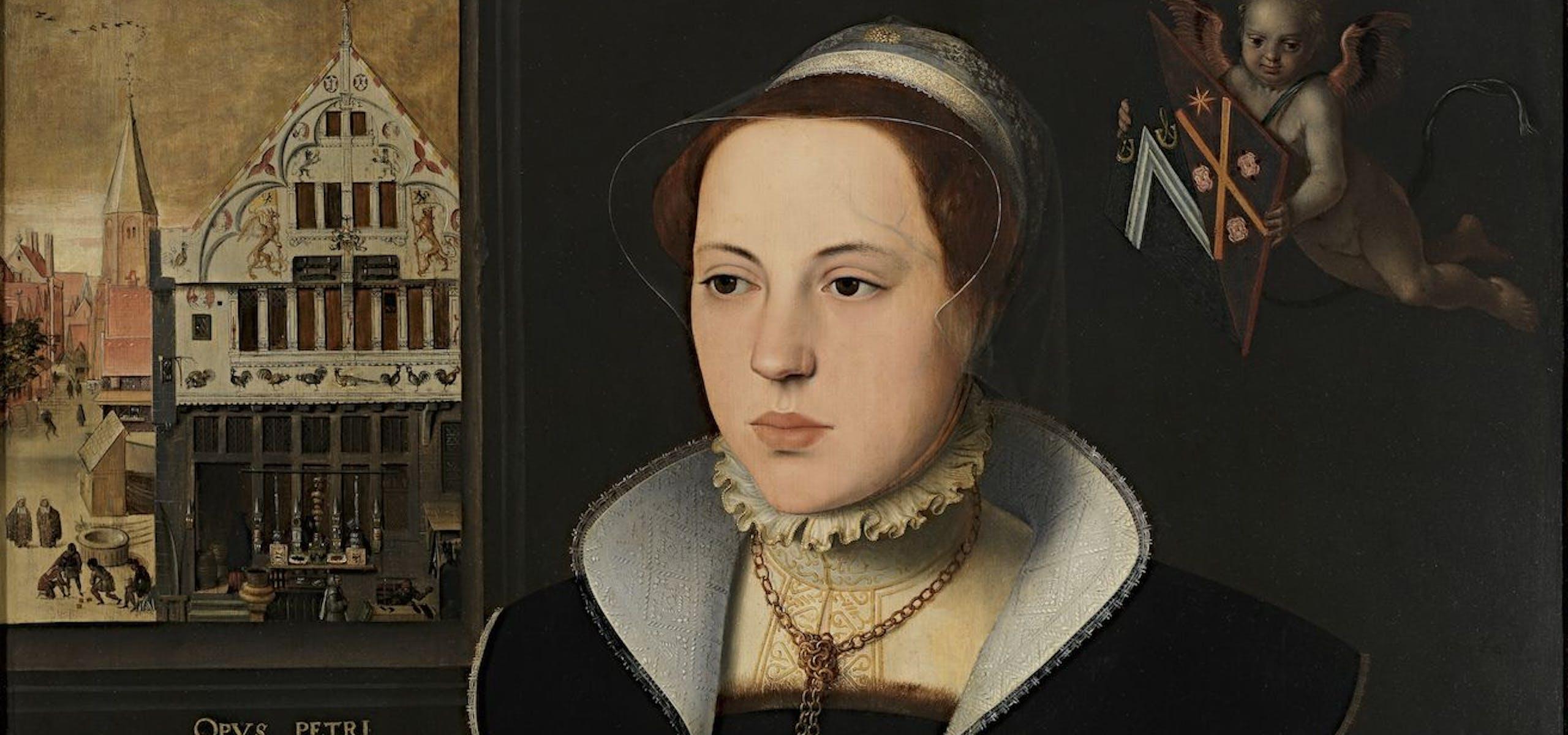 Pieter Pourbus, Portret van Jaquemyne Buuck