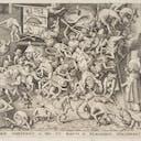 Pieter Bruegel the Elder, The Fall of the Magician Hermogenes