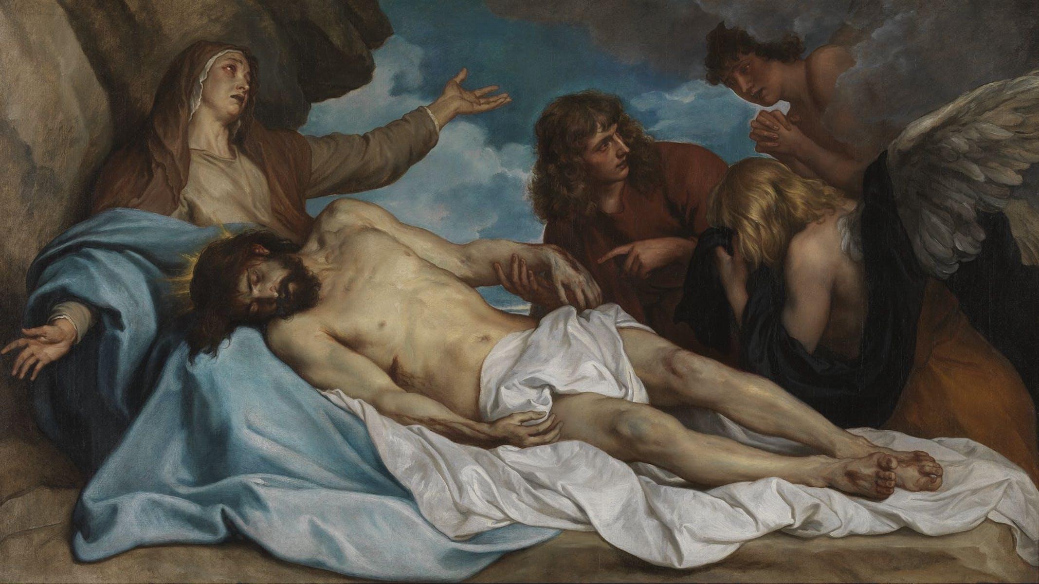 Van Dyck, Bewening van Christus